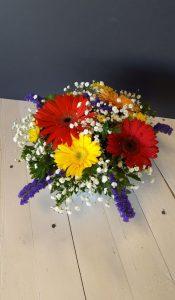 Accent-Floral Bowl of Gerber Sunshine