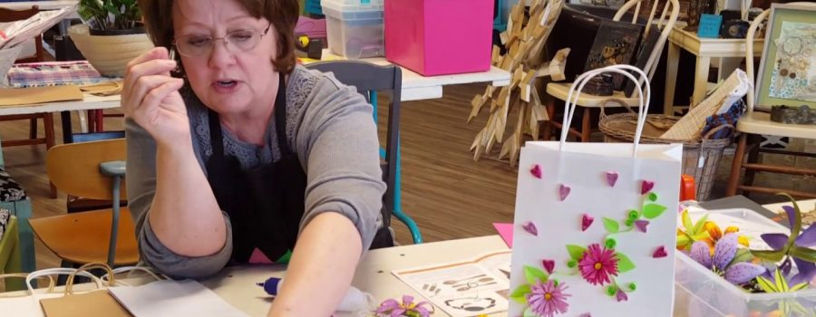 Quilling vs. Quilting and CCC Classes