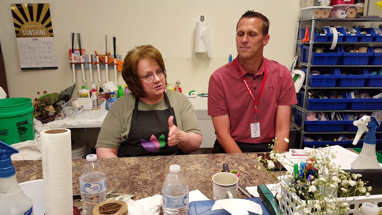 Tammy and Kyle Jensen discuss the GPS Blood Drive